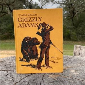 Vintage Grizzly Adams Book